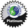 title= The Environmental Cacher: Awarded for attending 2 or more Cache-In-Trash-Out (CITO) event caches | juergb has 5 and needs 1 more to go up a level