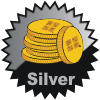 title= The Coin Collector   Awarded for moving/discovering 75 Geocoins    Team Fjordies has 172 and needs 28 more to go up a level