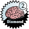 title= The Brainiac: Awarded for finding 2 or more Difficulty 5 caches | juergb has 175 and needs 0 more to go up a level