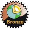 title= The Earth Cacher   Awarded for finding 5 or more Earthcache type caches    ozone68 has 9 and needs 1 more to go up a level