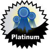 title= The Favourite Cacher   Awarded for acquiring 25 or more favourite points on hidden caches    Team Fjordies has 106 and needs 44 more to go up a level