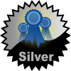title= The Favourite Cacher: Awarded for acquiring 25 or more favourite points on hidden caches | ozone68 has 44 and needs 16 more to go up a level
