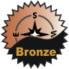 title=The South wind Cacher: Awarded for finding 125 or more caches on a bearing of South from home base | ozone68 has 175 and needs 75 more to go up a level