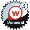 title= The Waymarker   Awarded for logging 1050 eller mere waymarks   Lyngerup.dk has 1323 og behøver 77 mere for at gå et level op