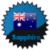 title= Australia Cacher    Awarded for finding caches in a percentage of states in Australia       on4bam has 50% (4 of 8 states) and needs 25% more to go up a level