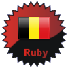 title= Belgium Cacher    Tildelt for at finde caches in a percentage of states in Belgium       Lyngerup.dk has 45% (5 of 11 states) og behøver 5% mere for at gå et level op