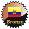 title= Ecuador Cacher    Awarded for finding caches in a percentage of states in Ecuador       on4bam has 4% (1 of 24 states) and needs 11% more to go up a level