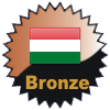 title= The Hungary Cacher: Awarded for finding caches in a percentage of states in Hungary    |  juergb has 10% (2 of 20 states) and needs 5% more to go up a level