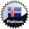 title= Iceland Cacher    Awarded for finding caches in a percentage of states in Iceland       on4bam has 38% (3 of 8 states) and needs 2% more to go up a level