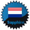 title= Netherlands Cacher    Awarded for finding caches in a percentage of states in Netherlands       Team Fjordies has 67% (8 of 12 states) and needs 8% more to go up a level