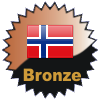 title= Norway Cacher    Awarded for finding caches in a percentage of states in Norway       on4bam has 5% (1 of 20 states) and needs 10% more to go up a level