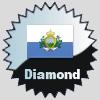 title= San Marino Cacher    Tildelt for at finde caches in a percentage of states in San Marino       Lyngerup.dk has 100% (1 of 1 states) og behøver 0% mere for at gå et level op