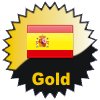 title= Spain Cacher    Awarded for finding caches in a percentage of states in Spain       ozone68 has 24% (4 of 17 states) and needs 6% more to go up a level